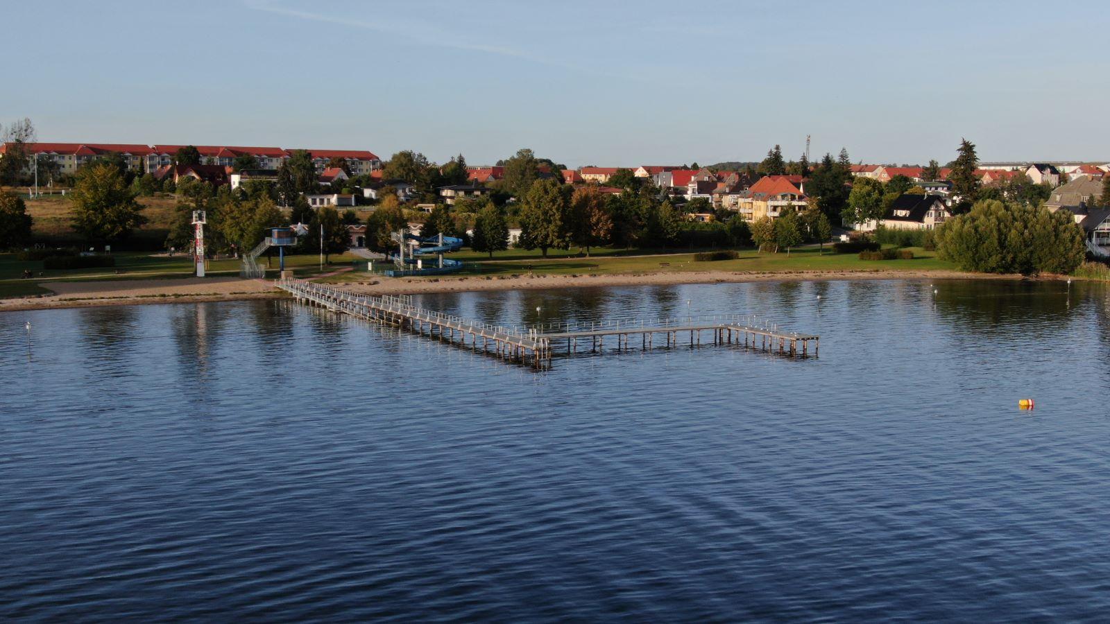 Dronenbild Volksbad