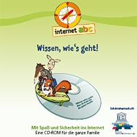 """Cover der CD-ROM """"Wissen, wie's geht""""; Rechte: Internet-ABC"""